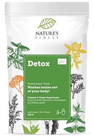 Nature's finest Bio Detox Superfood Mix mešanica za razstrupljanje, 125 g