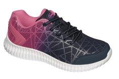 Scholl Egészségügyi cipő MERCURIE NAVY BLUE / FUCHSIA