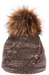 Capu Czapka zimowa 392-C Brown