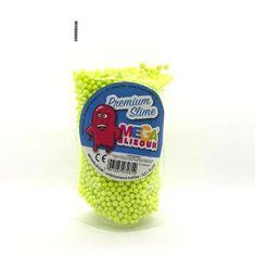 MEGASLIZOUN SLIZ - polystyrénové guličky - žlté 0,2l