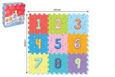 Wiky Pěnové puzzle číslice 9ks 32x32cm 10m+