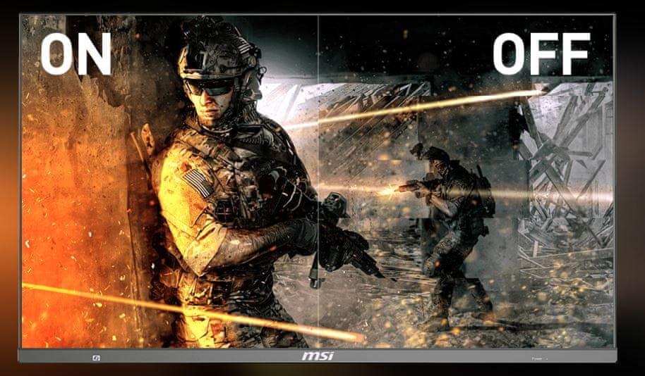 monitor gamingowy MSI Optix MAG272CQR (Optix MAG272CQR) cienkie ramki amd freesync płynny ruch