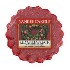 Yankee Candle Wosk do aromatycznej lampy aromat wieniec czerwonych pomidorów (Red Apple Wreath) 22 g