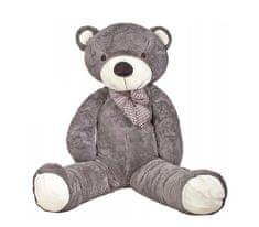 Doris Velký plyšový medvěd 130 cm Šedý