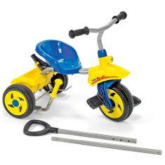Rolly Toys Tricikel z rolerji, modro