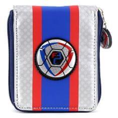Goal Kapus pénztárca, kék / ezüst futball-labda motívummal