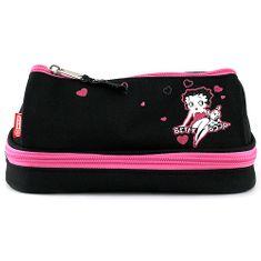 Betty Boop Školní penál , dvoukomorový
