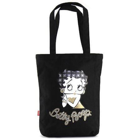 Betty Boop Bevásárlótáska , fekete