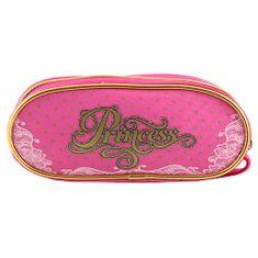 Princess Docelowy piórnik szkolny, Księżniczka, kolor różowy
