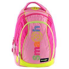 Smash Iskolai hátizsák 2az1-ben, rózsaszín