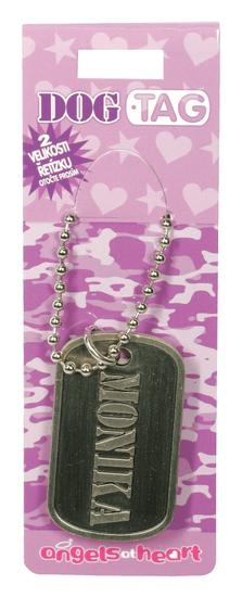 Angels at Heart Dog Tag jméno, Monika, 021104