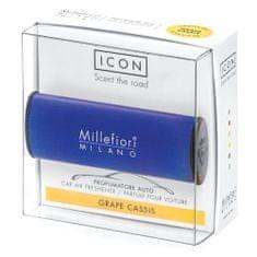 Millefiori Milano Vôňa do auta , Icon, Classic/Hrozno a čierne ríbezle, tmavo modrá