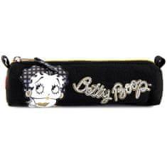 Betty Boop Iskolai tolltartó Betty Boop, ovális, fekete arany cipzárral