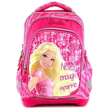 Barbie Plecak szkolny , napis Nigdy więcej blasku