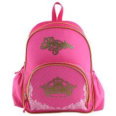 Princess Plecniačik Target, ružový so zlatým motívom