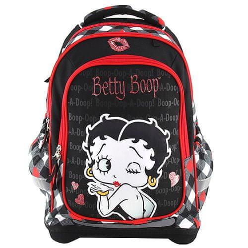 Betty Boop Školní batoh Target, , barva černá