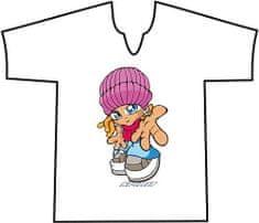"""Spirit Póló Spirit, Póló V NANA HANDS világos rózsaszín """"10"""""""