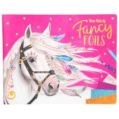 Miss Melody Maľovanky, kreatívna sada , Fancy Foils, trblietavé fólie