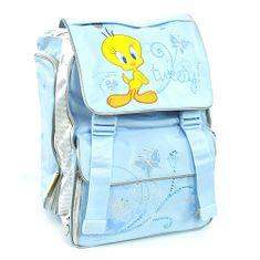 Tweety Školní batoh , 2 spony modrá