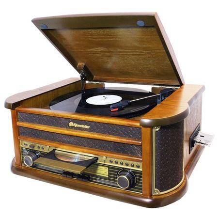 Roadstar retro lemezjátszó, 4,65 kg, retro