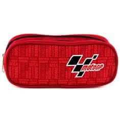 Moto GP Školní penál , elipsovitý, červený