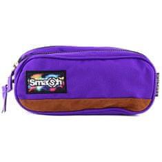 Smash Iskolai ceruzatok utántöltő nélkül, lila, 2 zseb