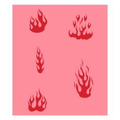 Eulenspiegel Airbrush šablona, Airbrush šablony - Plameny I