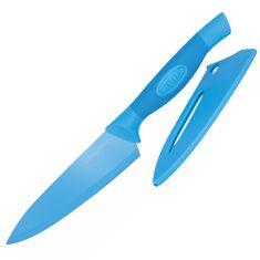 Stellar Kuchársky nôž Stellar, Colourtone, čepeľ nerezová, 15 cm, modrý