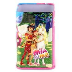 Mia and me Stojanček na ceruzky , ružovo/modrý