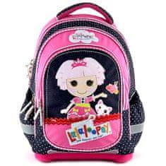 Lalaloopsy Školský plecniak Lalaloopsy, motív bábiky s mačičkou