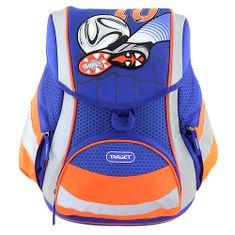 Goal Cél iskolai táska, Foci - fényvisszaverő, kék