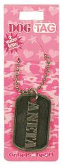 Angels at Heart Dog Tag jméno, Aneta, 021026