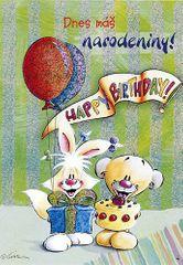 Diddl & Friends Blahopřání Diddl a jeho přátelé, Dnes máš narodeniny!