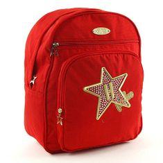 Hollywood Studentský batoh Milano, #3 červená