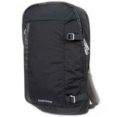 EASTPAK Cestovný plecniak , Čierny, sivé zipsy