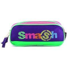 Smash Školní penál bez náplně , růžovo/fialový