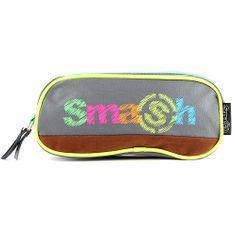 Smash Iskolai ceruzatok utántöltő nélkül, 2 zseb, zöld / szürke