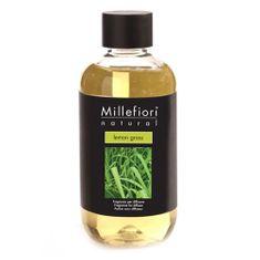 Millefiori Milano Náplň do difuzéru , Natural, 250 ml/Citrónová tráva