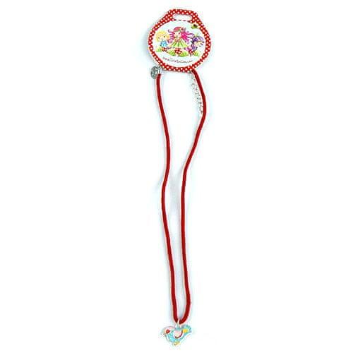 Trixibelles Náhrdelník, Trixibells, Náhrdelník s príveskom červená