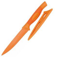 Stellar Univerzální nůž , Colourtone, čepel nerezová, 12 cm, oranžový
