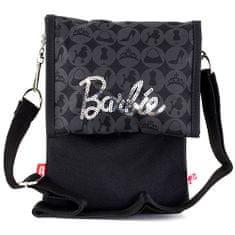 Barbie Kabelka přes rameno , černá se stříbrným nápisem