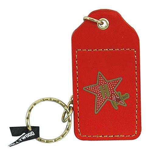 Hollywood Kľúčenka Hollywood Star, Kľúčenka červená