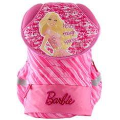 Barbie Školský plecniak Barbie, nápis Never enough sparkle