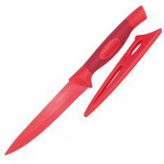 Stellar Univerzálny nôž Stellar, Colourtone, čepeľ nerezová, 12 cm, červený