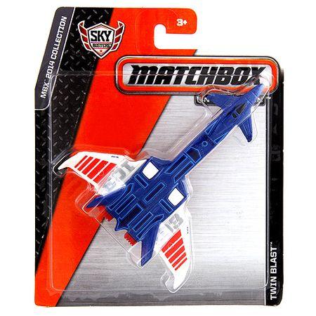 Mattel Samolot , Twin Blast, 11 cm