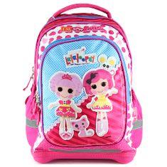 Lalaloopsy Školní batoh , motiv panenek, růžový