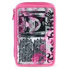 Barbie Šolska svinčnica s polnilom, roza-črna, motiv časopisa