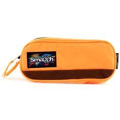 Smash Iskolai ceruzatok utántöltő nélkül, neon narancs, 2 zseb