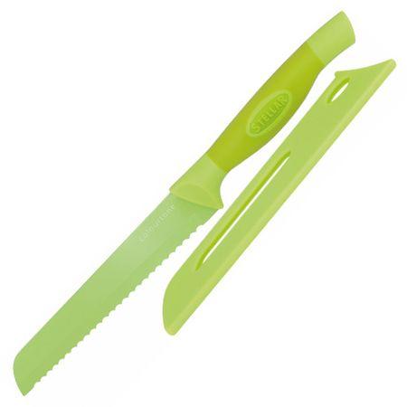 Stellar Csillag kenyér kés, Colourtone, rozsdamentes acél penge, 18 cm, zöld