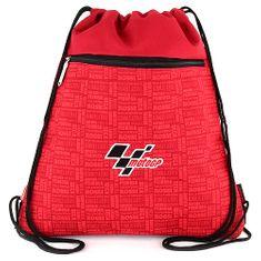Moto GP Športový vak , červený, s nápisom